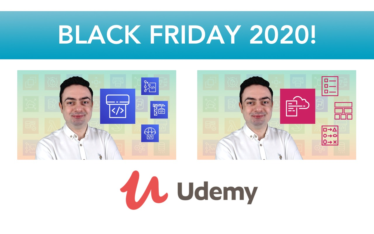 My courses are on sale on Udemy for Black Friday 2020!