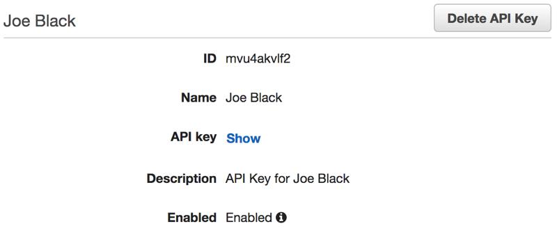 Controlling API Usage with API Keys and Usage Plans on AWS API