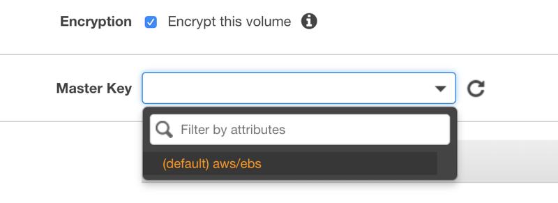 Encrypting Amazon EBS Volumes | Shikisoft Blog